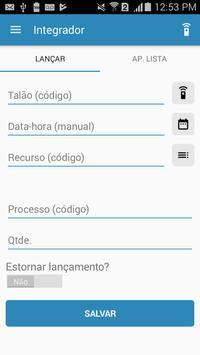 Integrador apk screenshot