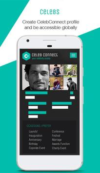 CelebConnect apk screenshot
