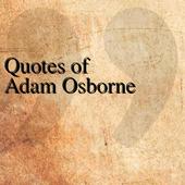 Quotes of Adam Osborne icon