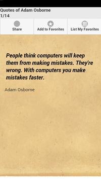 Quotes of Adam Osborne poster