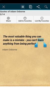 Quotes of Adam Osborne apk screenshot
