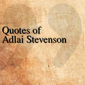 Quotes of Adlai Stevenson icon