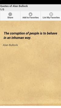 Quotes of Alan Bullock poster