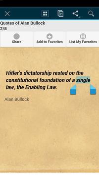 Quotes of Alan Bullock apk screenshot