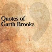 Quotes of Garth Brooks icon