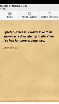 Quotes of Deborah Cox poster