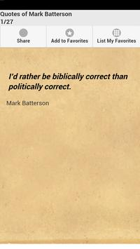 Quotes of Mark Batterson poster