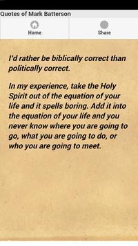 Quotes of Mark Batterson apk screenshot