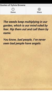Quotes of Sylvia Browne screenshot 1