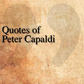 Quotes of Peter Capaldi icon