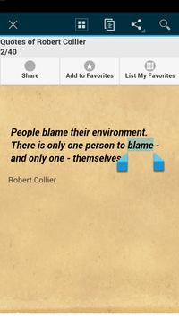 Quotes of Robert Collier screenshot 1