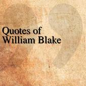 Quotes of William Blake icon