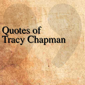 Quotes of Tracy Chapman icon