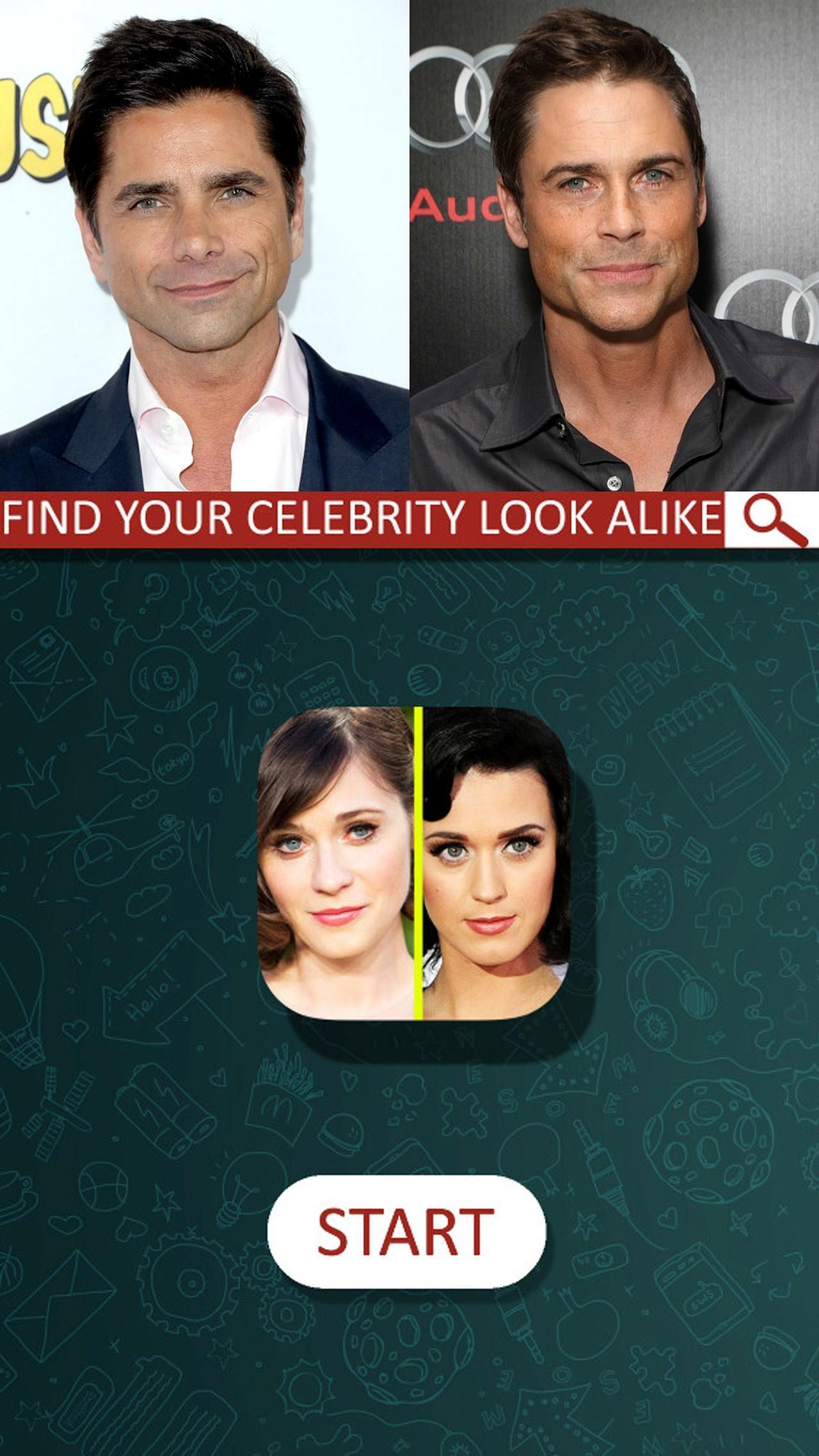 My celebrity look alike