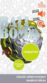 Ball Bomb Minesweeper 3D poster
