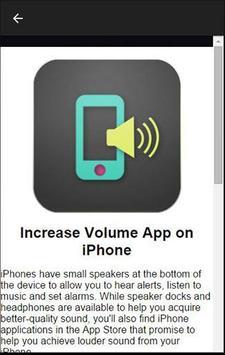 Cell Phone Volume Booster screenshot 2