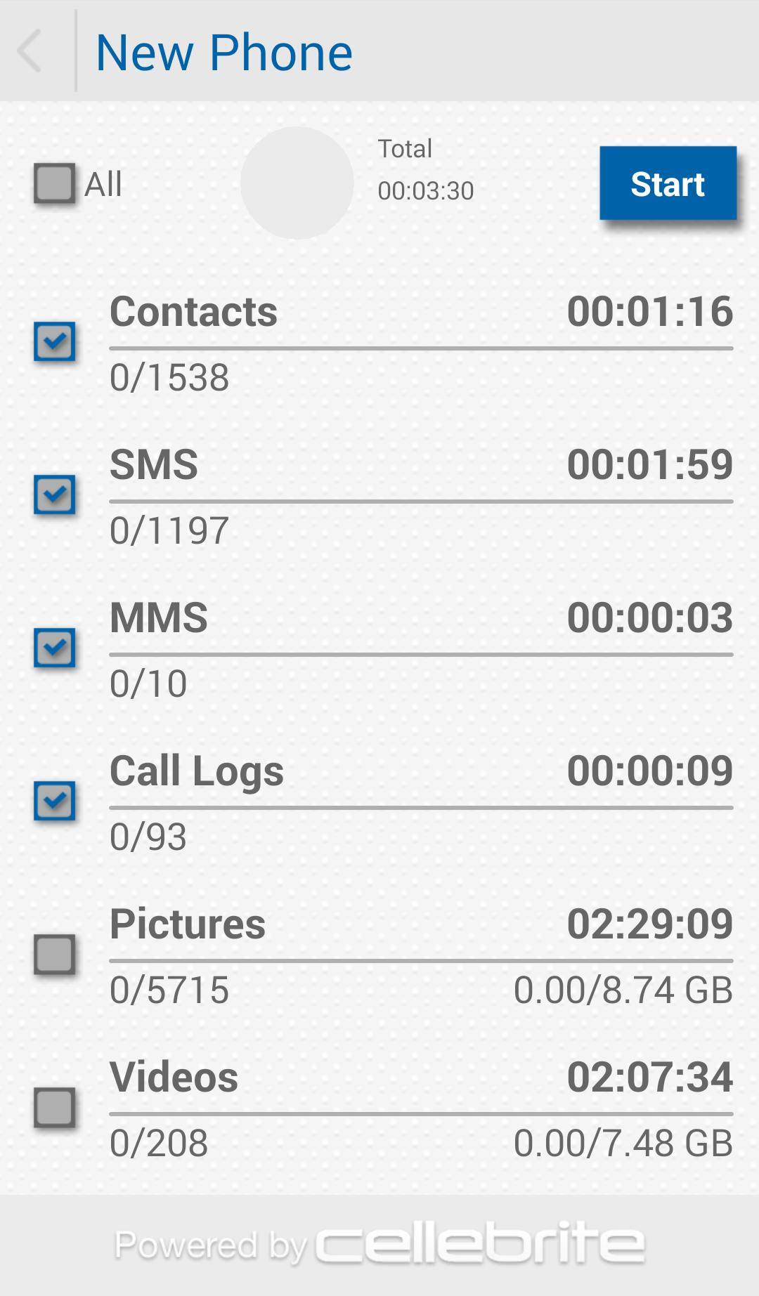 Cellebrite Transfer App for Android - APK Download