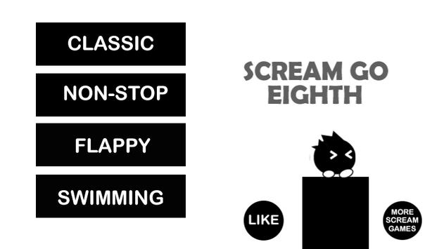 Yasuhati Scream Go Eighth Go poster