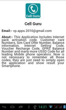 Cell Guru apk screenshot