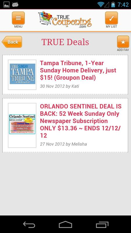 True Couponing APK Download - Free Lifestyle APP for ...