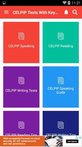 Celpip study guide.