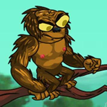 Brainless Monkey Attack poster