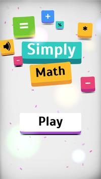 Simply Math poster