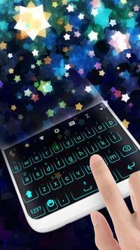 Neon Keyboard Theme screenshot 2