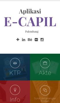 Poster E-Capil Kota Palembang