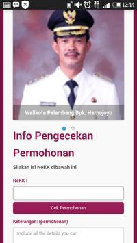 E-Capil Kota Palembang تصوير الشاشة 2