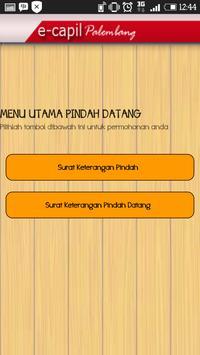 3 Schermata E-Capil Kota Palembang