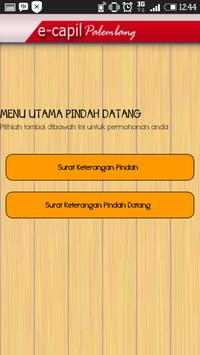 E-Capil Kota Palembang تصوير الشاشة 3