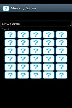 Memory Game screenshot 1