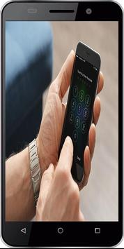 fingerprint lock screen prank poster