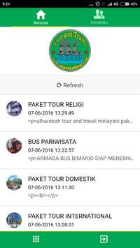Alharokah Tour Travel Mobile poster