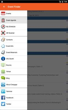 Cengage Learning Event Finder apk screenshot