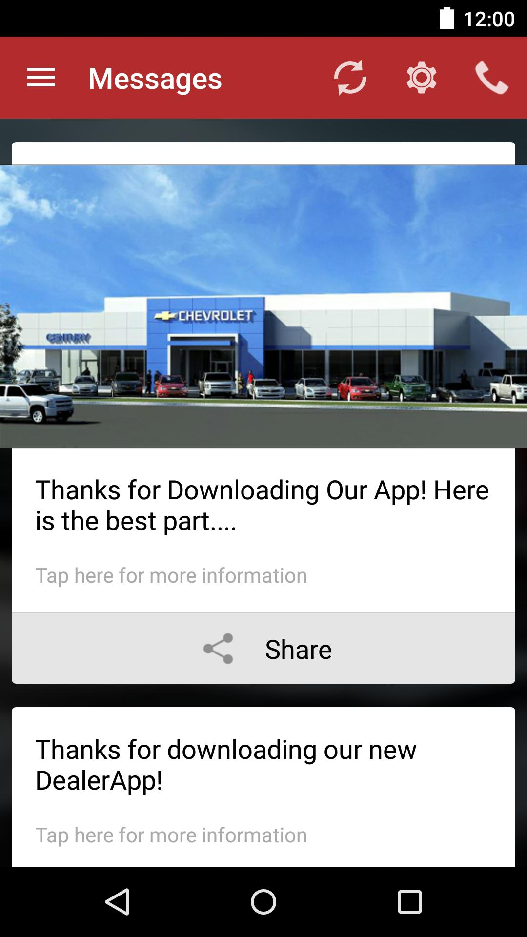 Century 3 Chevrolet Dealerapp For Android Apk Download