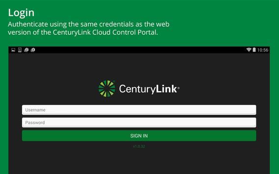 CenturyLink Cloud Management apk screenshot