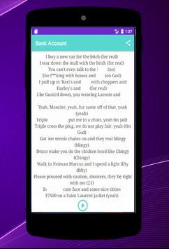 21 Savage - Bank Account Songs screenshot 2