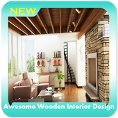 Awesome Wooden Interior Design icon