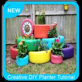 Creative DIY Planter Tutorial icon