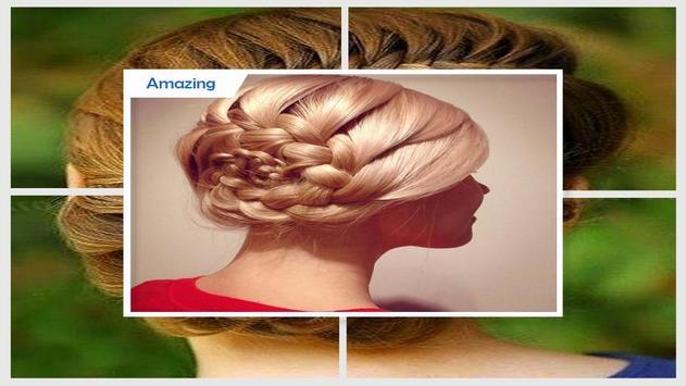 Easy Flower Braid Hairstyles screenshot 4