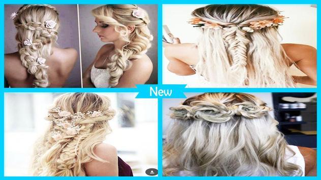 Easy Flower Braid Hairstyles poster