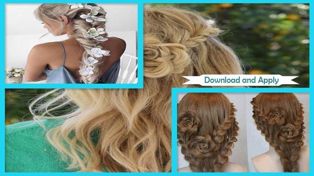 Easy Flower Braid Hairstyles screenshot 2