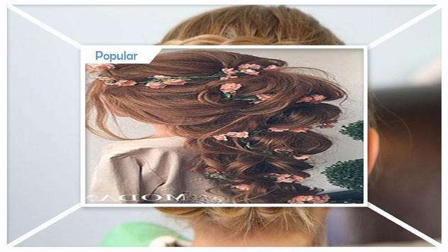 Easy Flower Braid Hairstyles screenshot 3