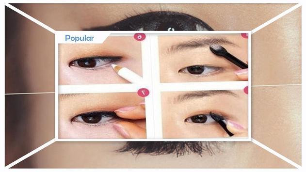 Make up for monolid eyes screenshot 3