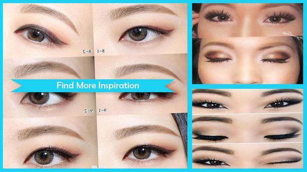 Make up for monolid eyes screenshot 1