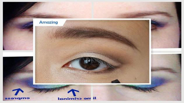 Make up for monolid eyes screenshot 4