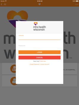 MHS Health Wisconsin apk screenshot