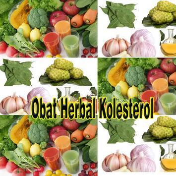 Obat Herbal Kolesterol Alami poster